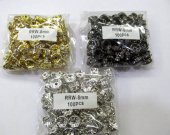 wholesale rondelle crystal rhinestone 8mm 300pcs spacer tone,antique black jet bronze mixed