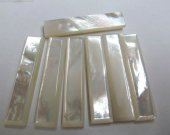 batch MOP shell mother of pearl rectangle column bar jewelry beads 10x38mm 100pcs