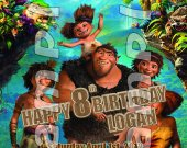 The Croods Personalized 4x6 Birthday Party Invitations