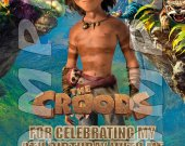 The Croods Personalized Thank You Cards