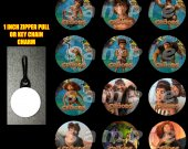 The Croods Set of 12 Zipper Pulls Make Great Party Favors