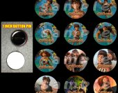 The Croods Set of 12 Pinback Buttons Make Great Party Favors