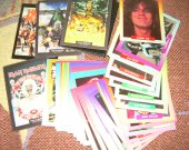 TRADING CARDS huge lot 64 ROCK CARDS & HEAVY METAL