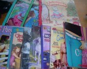 BOOKS HUGE LOT 11 girls children&trade;s used paperback