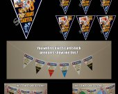 Escape from Planet Earth 6-Triangle Pennant Banner