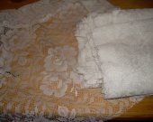 FABRIC LACE 6 PANLES  20 by 50 inches