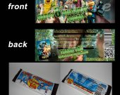 Epic Set of 12 Candy Bar Wrappers - Great Party Favors