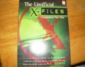 CASSETTE TAPES THE UNOFFICIAL X-FILES companion part one used