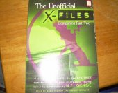 CASSETTE TAPES THE UNOFFICIAL X-FILES companion part TWO used