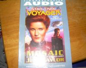CASSETTE TAPES STAR TREK VOYAGER   used