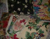 FABRIC UPHOLSTERY  mixed lot