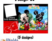 Mickey Mouse Clubhouse Invitation W/photo - Mickey Mouse Invitations 4x6/ 5x7 Digital File Design 3
