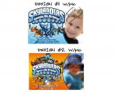 Skylanders  Birthday Invitation W/Photo - Skylanders Giants Invitations 4x6/ 5x7 Digital File Design 1 and 2