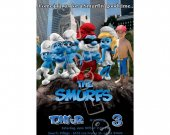 Smurfs  Birthday Invitation W/Photo - Smurfs Invitations 4x6/ 5x7 Digital File Design 1