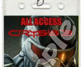 Crysis 3 Set of 12 VIP Party Invitation Passes or Party Favors - Style 3