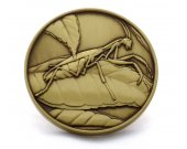European Mantis Limited Edition Collectible Coin - Praying Mantis