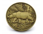 Javan Rhinoceros Limited Edition Rhino Collectible Coin