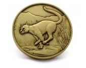 Cougar Limited Edition Collectible Coin - Mountain Lion, Puma