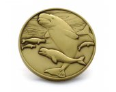 Beluga Whale Limited Edition Collectible Coin