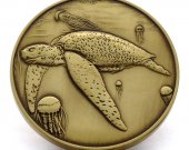 Leatherback Sea Turtle Limited Edition Collectible Coin