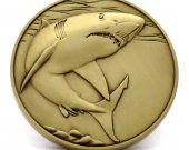 Great White Shark Limited Edition Collectible Coin