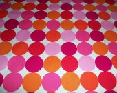 Michael Miller Disco Dot in Flamingo - 1 yard