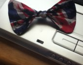 British Flag Hairbow