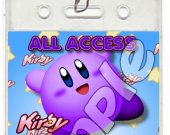 Kirby Set of 12 VIP Party Invitation Passes or Party Favors - Style 7