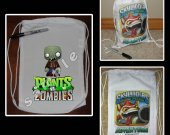 Plants vs. Zombies Mini Drawstring Sport Pack - Great Party Favor Bags - Style 4