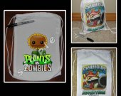 Plants vs. Zombies Mini Drawstring Sport Pack - Great Party Favor Bags - Style 5