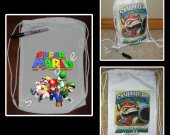 Super Mario Brothers Mini Drawstring Sport Pack - Great Party Favor Bags - Style 2