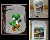 Super Mario Brothers Mini Drawstring Sport Pack - Great Party Favor Bags - Style 4