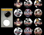 Iron Man 3 Set of 12 1 Inch Pinback Buttons - Make Great Party Favors