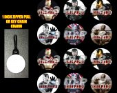 Iron Man 3 Set of 12 Zipper Pulls - Make Great Party Favors