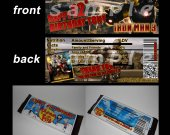 Iron Man 3 Set of 12 Personalized Candy Bar Wrappers Party Favors - Style 2
