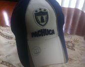Blue navy and white Sport Hat soccer team ( pachuca )