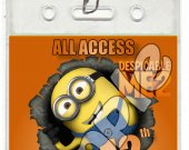 Despicable Me 2 Set of 12 VIP Party Invitation Passes or Party Favors - Style 3