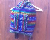 Hippie Colorful Backpack