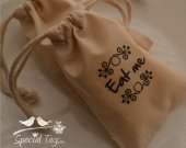 50 4x6inch - Muslin Bags - Baby Shower - Bridal Shower - Weddings -Favor Bags -Anniversary- Candy Bags- Treat Bags