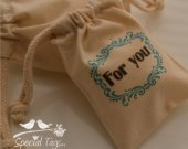 20 3x4inch Muslin Bags- Baby Shower - For You Bags - Favor Bags - Birthday - Anniversary - Candy Bags - Treat Bags