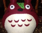 Hand stitched nice   MY NEIGHBOR TOTORO  a cute gift  in red centerpieces party