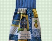 Handmade Kitchen Towel - Love