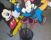 Disney Mickey Mouse Large Party Decoration picks.