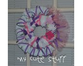 Baby Wreath - Nursery Wreath - Newborn Wreath - Nursery Gift - It™s a Girl Wreath