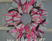 Baby Wreath - Nursery Wreath - Newborn Wreath - Nursery Gift - It's a Girl Wreath