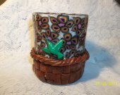 Hummingbird Basket Glowtive