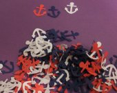 Nautical Anchor Themed Confetti, 150 pc