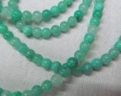 wholesale bulk  genuine hemimorphite gemstone beads 6mm 5strands 16inch strand,  round ball green jewelry beads