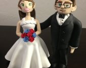 Carl and Ellie Wedding Cake Topper