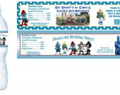 Smurfs 2 Water Bottle Labels - PRINTED FOR YOU - Birthday Party Supplies Favors Smurfette Movie